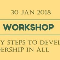 5 Easy Steps to Develop Leadership in All (A Workshop in Tamizh)