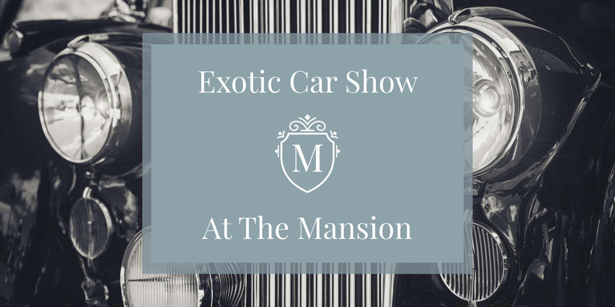 Exotic Car Show At The Mansion Glen Cove
