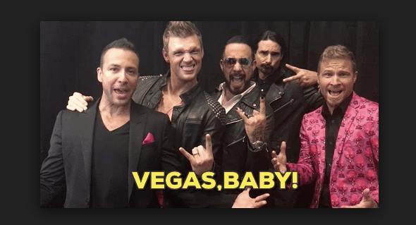 Backstreet boys vip meet and greet upgrade at planet hollywood backstreet boys vip meet and greet upgrade m4hsunfo