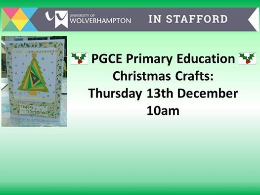 PGCE Primary Education Christmas Crafts