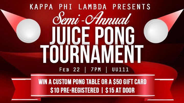 bing kappas semi annual juice pong tournament at binghamton