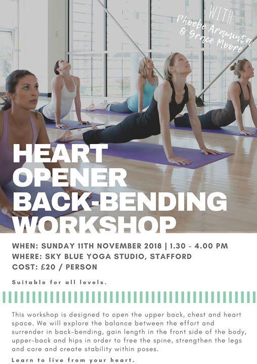 Heart Opener Back-Bending Yoga Workshop