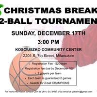 Holiday 2-Ball Tournament
