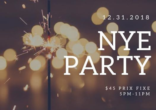 NYE Pre-Game Party
