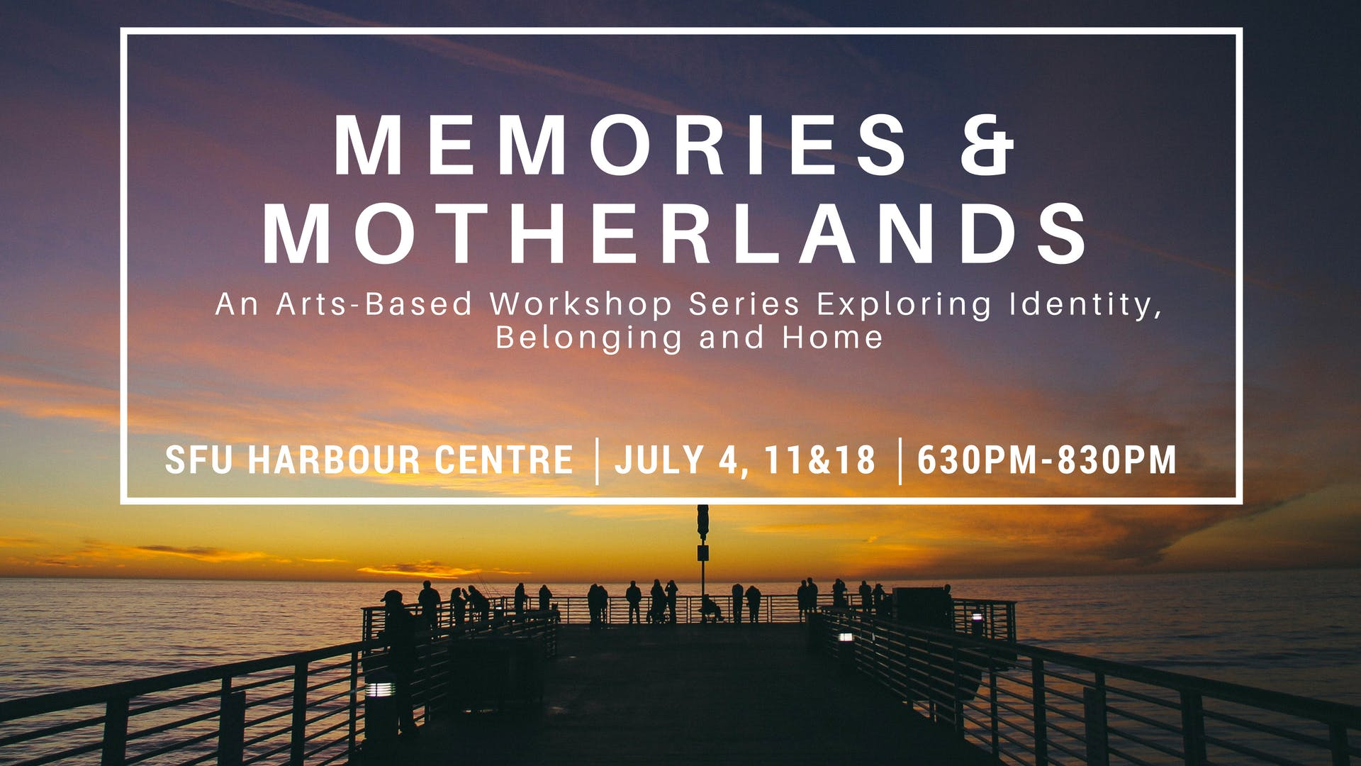 Memories and Motherlands Free Youth Workshops