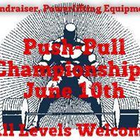 Push-Pull Powerlifting Fundraiser