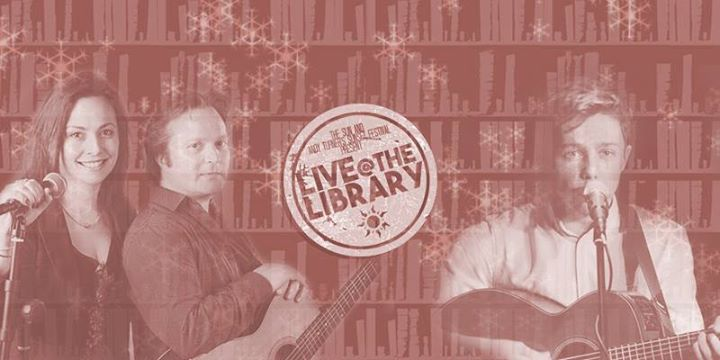 Live at the Library DRAGONFLY SKY and ZACH JOHNSON