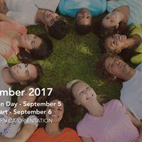 Orientation Day 2017