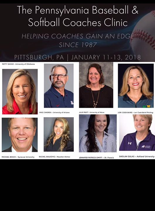 Pennsylvania Baseball & Softball Coaches Clinic