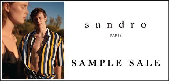 46cb2be367c Sandro Los Angeles Sample Sale at 260la