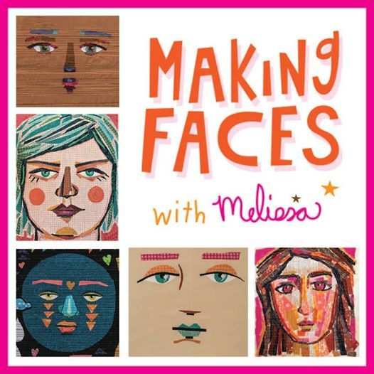 Making Faces With Melissa Averinos At Sew Inspired Quilt Shop Simsbury