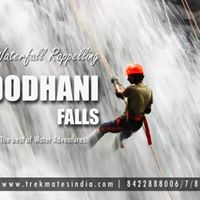 TMI Thrilling Waterfall Rappelling at Dodhani On 3rd Sep17.