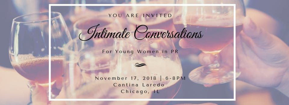 Intimate Conversations For Young Women in PR