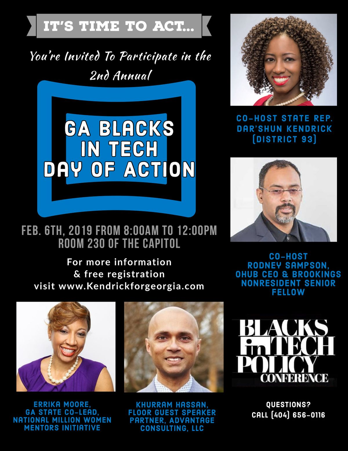 2nd Annual GA Blacks in Tech Policy Conference Day of Action