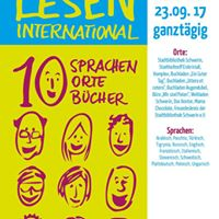 10 Sprachen - 10 Orte - 10 Bcher Lesen International