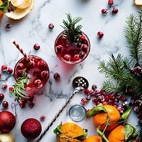 Infused Holiday Cocktails