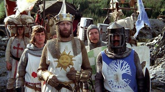 Monty Python and the Holy Grail Movie Party
