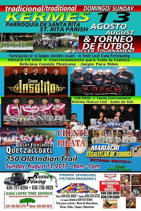 Kermes Outdoor Festival At St Rita Of Cascia Aurora
