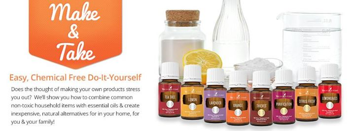 Young Living Make Amp Take Class At The Craft Amp Vendor