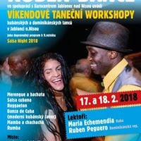 9.ronk Salsa night a vkendov workshopy s lyovnm