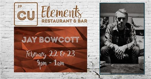 Jay Bowcott in CU Elements