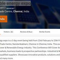 SUGA Business Meeting At Renewable Energy Expo 2017 Chennai
