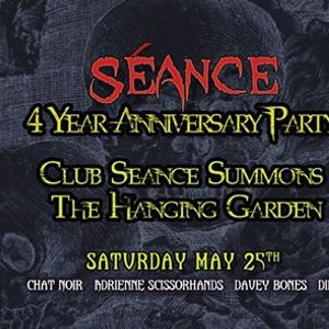 Club Sance 4 Year Anniversary Party