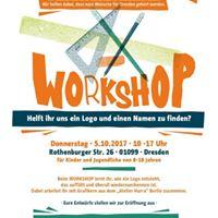Logo-Workshop des Kinder- und Jugendbros Dresden