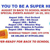 Be a SUPER Health HERO - Belfair