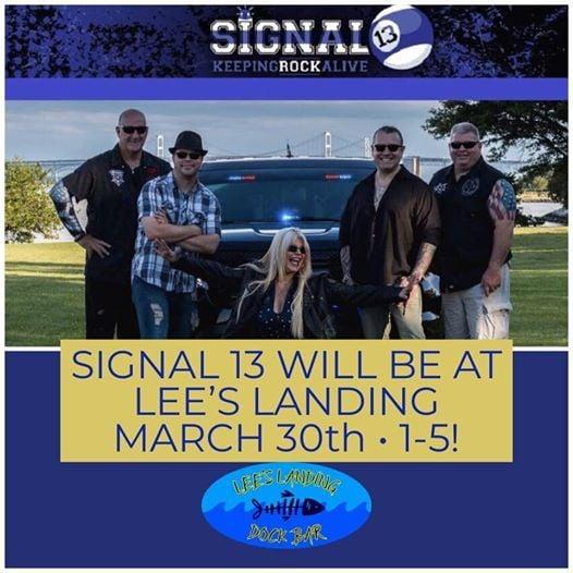 Signal 13 at Lees Landing