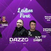 Ladies First com TOP Dj Dazzo no PUB - mulher VIP