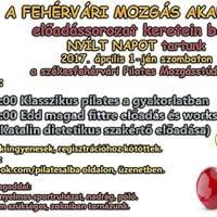 Fehrvri Mozgsakadmia - Edd magad fittre elads s workshop