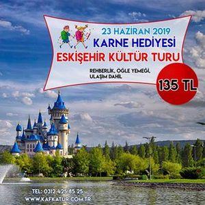 Karne Hediyesi Eskiehir Odunpazar Sazova Park Turu