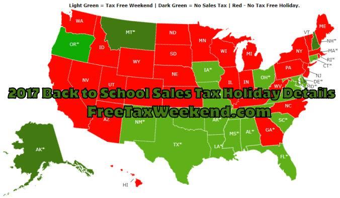 Alabama Tax Free Weekend 2018 At Alabama, Alabama