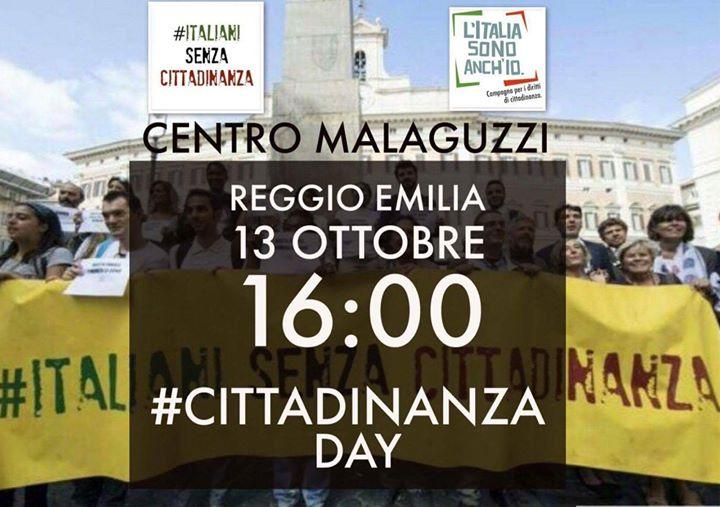 Cittadinanzaday  Centro Loris Malaguzzi - Reggio Emilia
