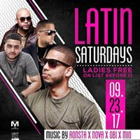 Latin Saturdays at Candibar Nightclub