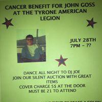 John Goss Cancer Benefit