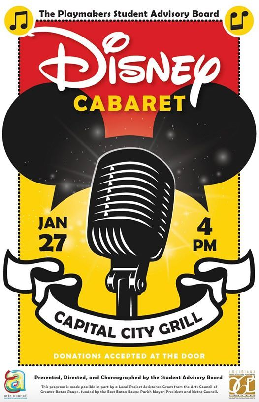 Playmakers Student Advisory Boards Disney Cabaret