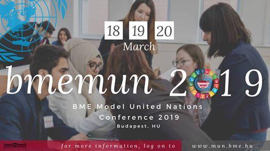 BME Model United Nations Conference 2019