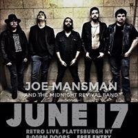 Joe Mansman and TMRB at Retro Live