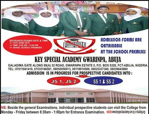 Key Special Academy Gwarinpa Abuja