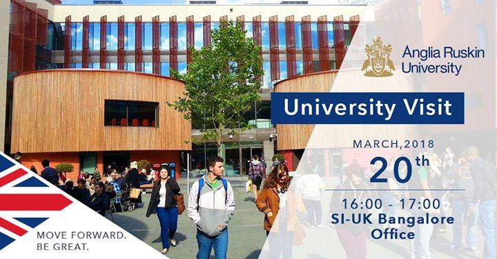 Anglia Ruskin University Visiting SI-UK Bangalore