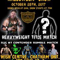 Classic Championship Wrestling Halloween Show