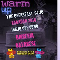 Rabadan 2016 &quotThe Breakfast Club&quot