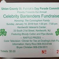 Celebrity Bartenders Fundraiser