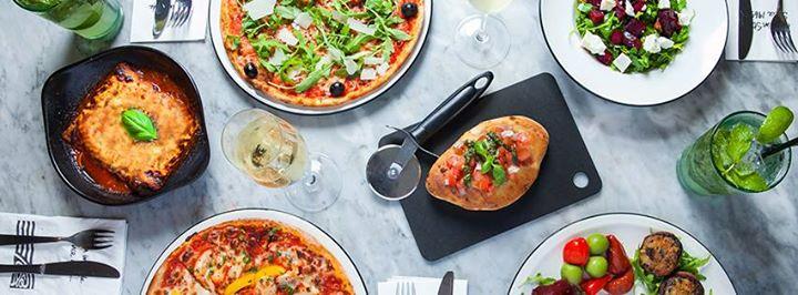 Brunch at PizzaExpress