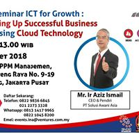 Seminar ICT For Growth (13 Mac Jakarta)