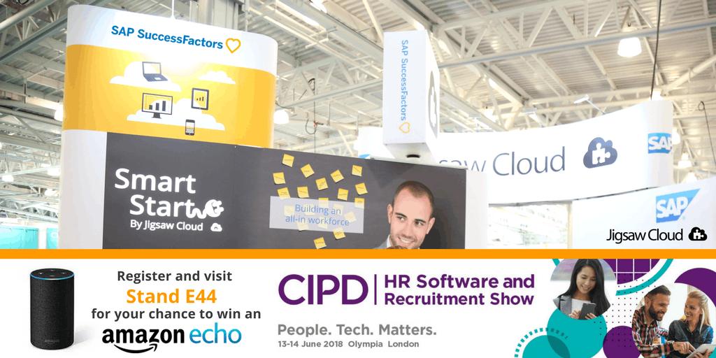 Win an Amazon Echo Join Jigsaw Cloud at the CIPD HR Software & Recruitment Show 2018
