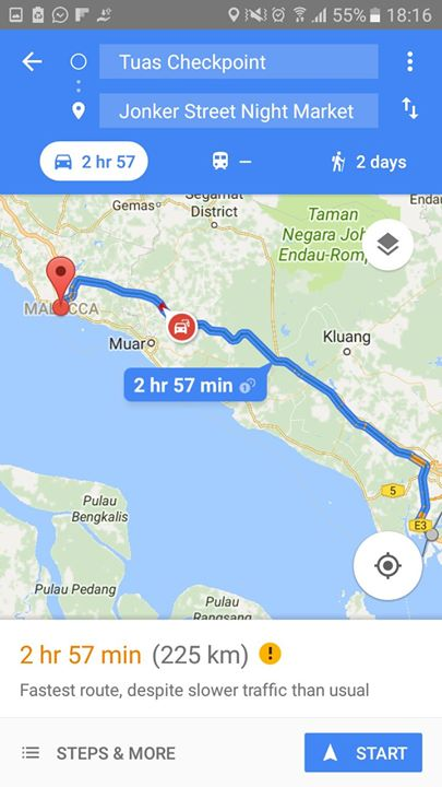 Leisure RideDrive To Malacca