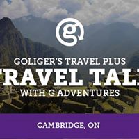 Goligers Travel Talk with G Adventures